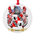 Rober Round Ornament