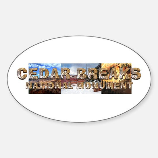 ABH Cedar Breaks Sticker (Oval)