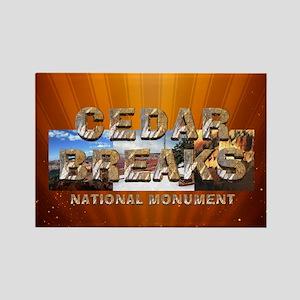 ABH Cedar Breaks Rectangle Magnet