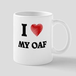 I Love My Oaf Mugs
