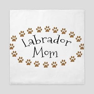Labrador Mom Queen Duvet