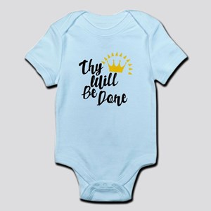 Thy Will Be Done Body Suit