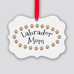 Labrador Mom Ornament