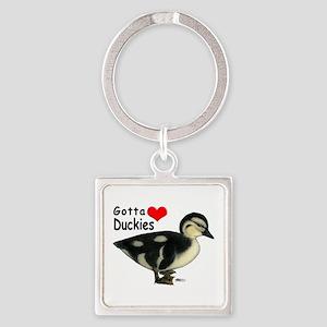 Gotta Love Duckies Keychains