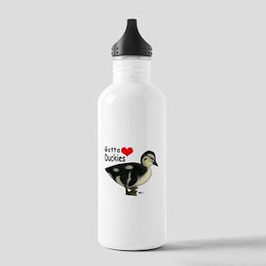 Gotta Love Duckies Water Bottle