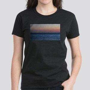 Mackinac Bridge Sunset T-Shirt