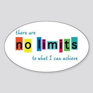 No Limits to What I Can Achieve Sticker