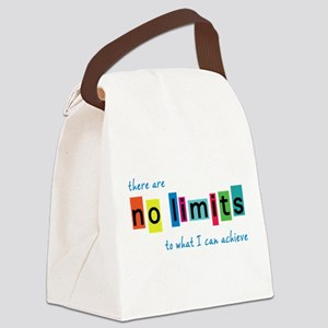 No Limits to What I Can Achieve Canvas Lunch Bag