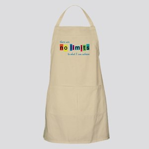 No Limits to What I Can Achieve Apron