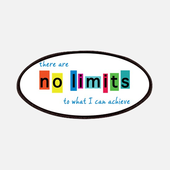 No Limits to What I Can Achieve Patch