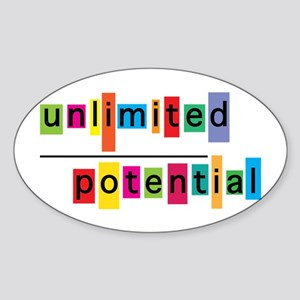 Unlimited Potential Sticker