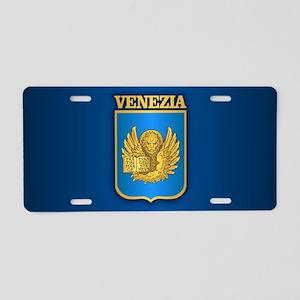 Venezia/Venice Aluminum License Plate