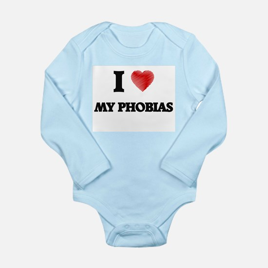I Love My Phobias Body Suit