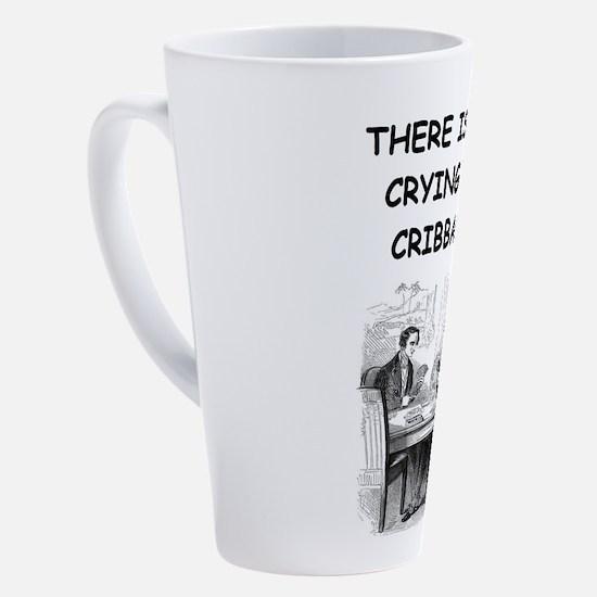 Cute Cribbage 17 oz Latte Mug