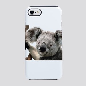 Cute Koala Bears smiling iPhone 8/7 Tough Case