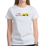 I Love Rock Trucks Women's T-Shirt