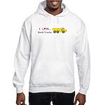 I Love Rock Trucks Hooded Sweatshirt