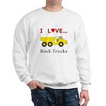 I Love Rock Trucks Sweatshirt