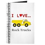 I Love Rock Trucks Journal
