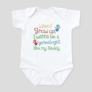 Genealogist Like Daddy Infant Bodysuit