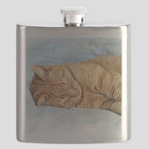 Sleepy Kitty Flask