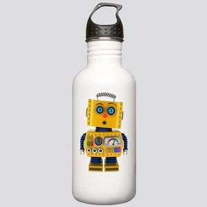 Surprised toy robot Stainless Water Bottle 1.0L