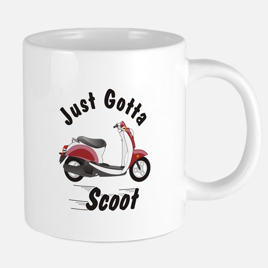 Just Gotta Scoot Metro Mugs