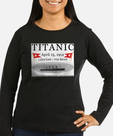 Titanic Ghost Ship (white) Long Sleeve T-Shirt