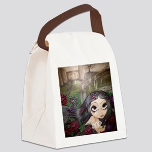 Safety in the garden of roses Canvas Lunch Bag