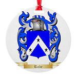 Robe Round Ornament