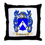 Robberts Throw Pillow