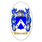 Robberds Sticker (Oval 50 pk)