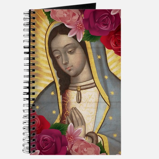 Virgin of Guadalupe with Roses Journal