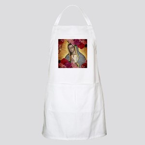 Virgin of Guadalupe with Roses Apron
