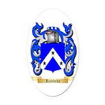 Robbeke Oval Car Magnet