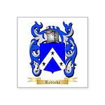 Robbeke Square Sticker 3