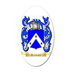 Robbeke 20x12 Oval Wall Decal