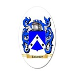 Robardey 20x12 Oval Wall Decal