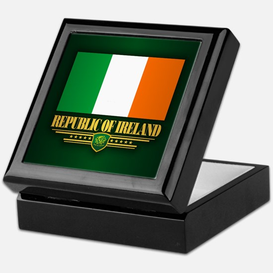 Flag of Ireland Keepsake Box