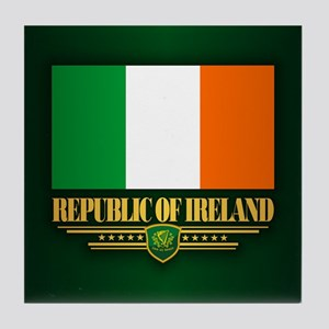 Flag of Ireland Tile Coaster