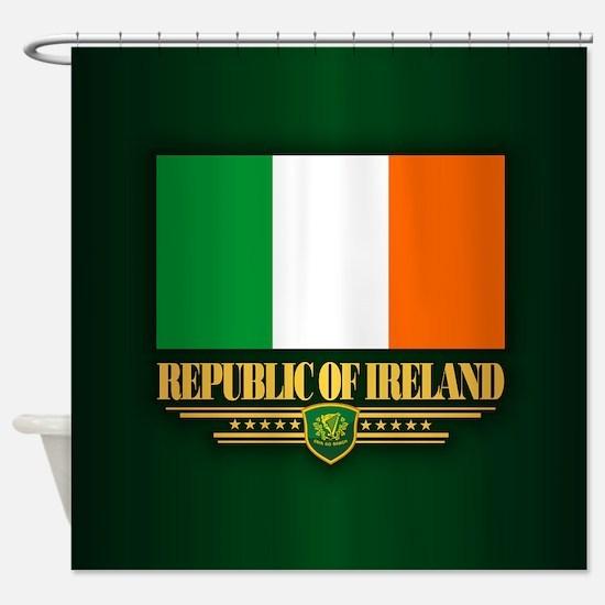 Flag of Ireland Shower Curtain