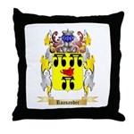 Roasander Throw Pillow
