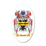 Roarty 35x21 Oval Wall Decal