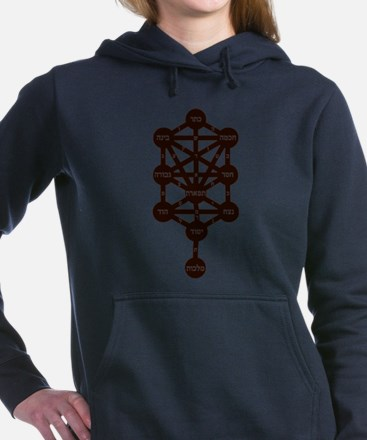 Kabbalah Judaism Traditi Women's Hooded Sweatshirt