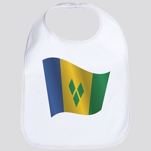 Saint Vincent and the Grenadines flag Bib