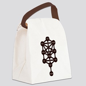 Kabbalah Judaism Tradition Hebrew Canvas Lunch Bag
