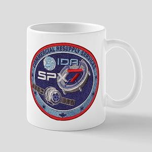 SpX-7 Logo 11 oz Ceramic Mug