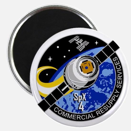 SpX-4 Logo Magnet
