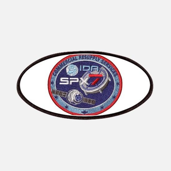 SpX-7 Logo Patch