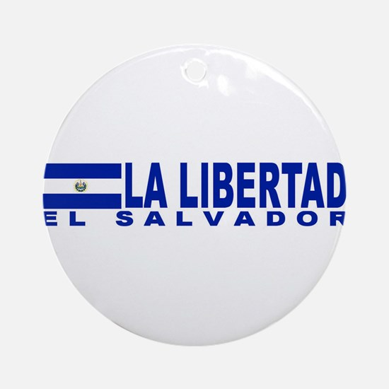 La Libertad, El Salvador Ornament (Round)